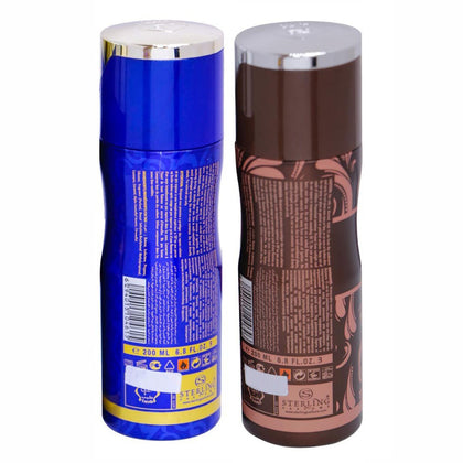 Tayyib Amal Hayati & Oud Al Nafees Non Alcoholic Deodorant Combo Pack of 2 x 200 ml