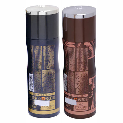 Tayyib Laylat Samar & Oud Al Nafees Non Alcoholic Deodorant Combo Pack of 2 x 200 ml