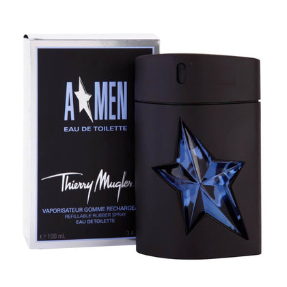 Thierry Mugler A*Men Eau De Toilette Refillable For Men Rubber Flask - 100ml