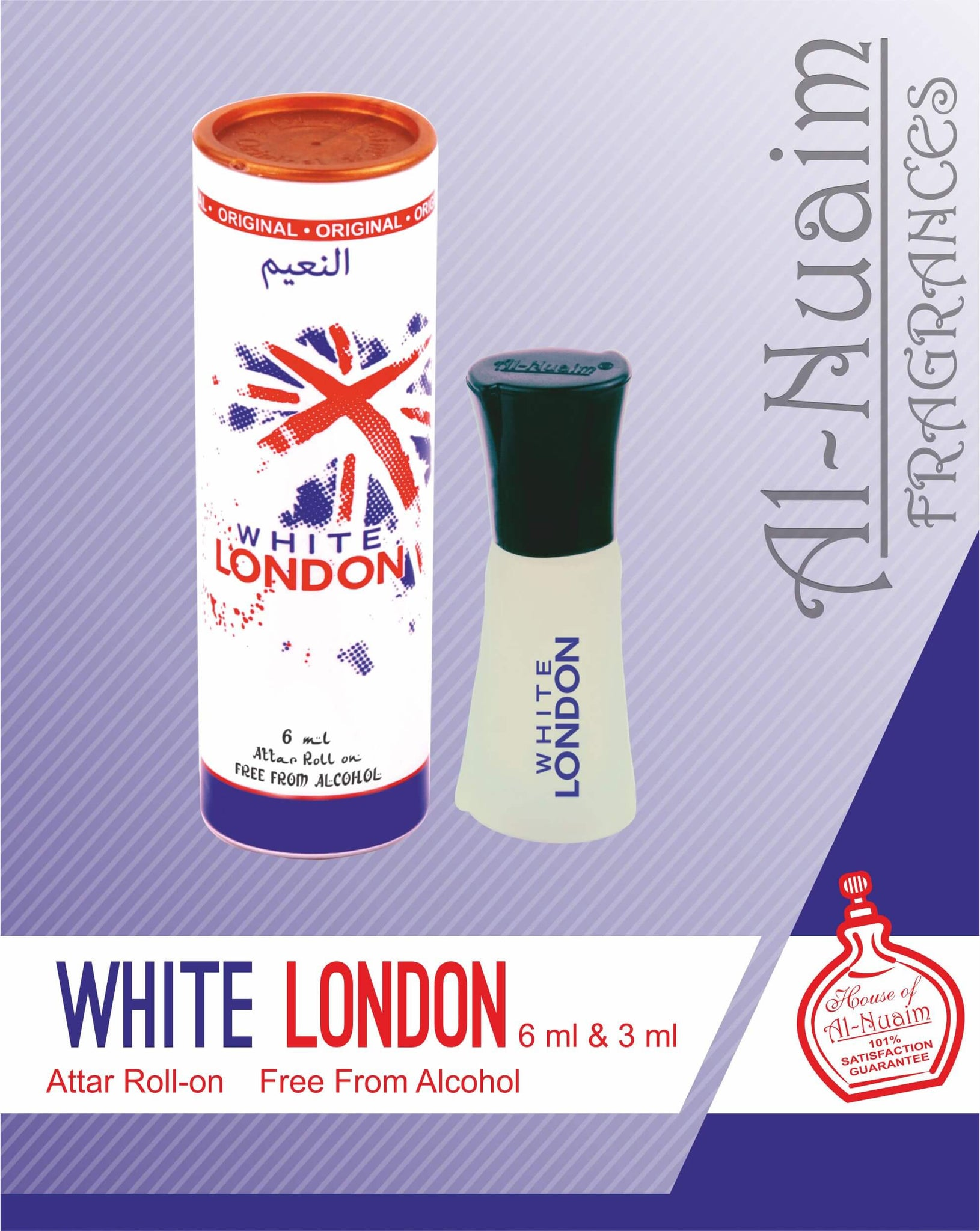 Al Nuaim White London Attar 6ML
