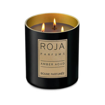 Roja Amber Aoud candle 300 gm