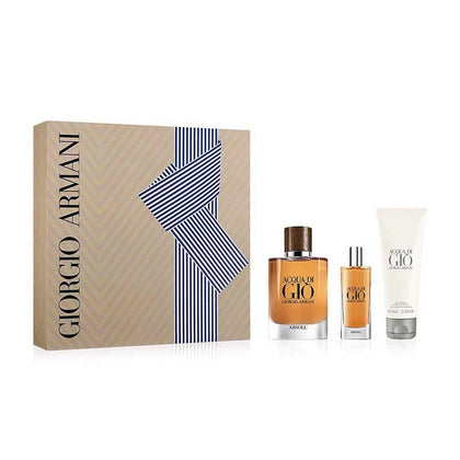 Giorgio Armani Acqua Di Gio Absolu Gift Set For Men EDT