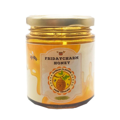 Friday charm Organic Ajwain Honey -178 gram