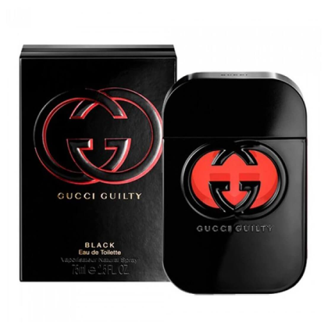Gucci Guilty Black Perfume For Women - 75ml