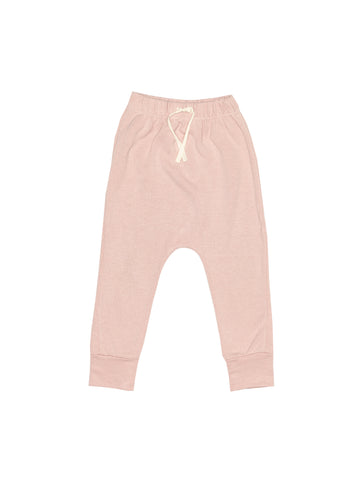 Fleece Harem Pant - Rose