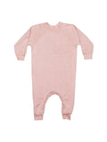 Fleece Romper - Rose