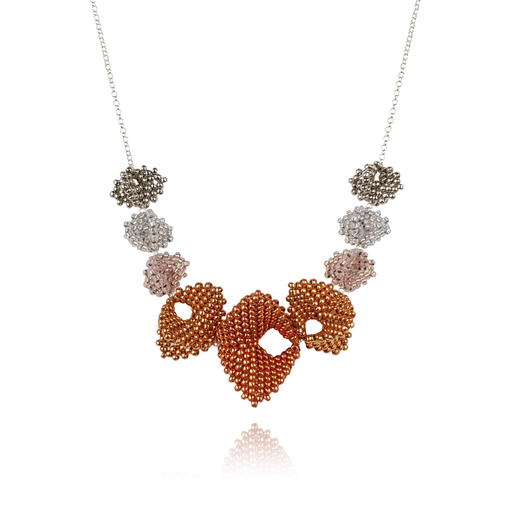 Infinity Elements Necklace - Copper & Silver