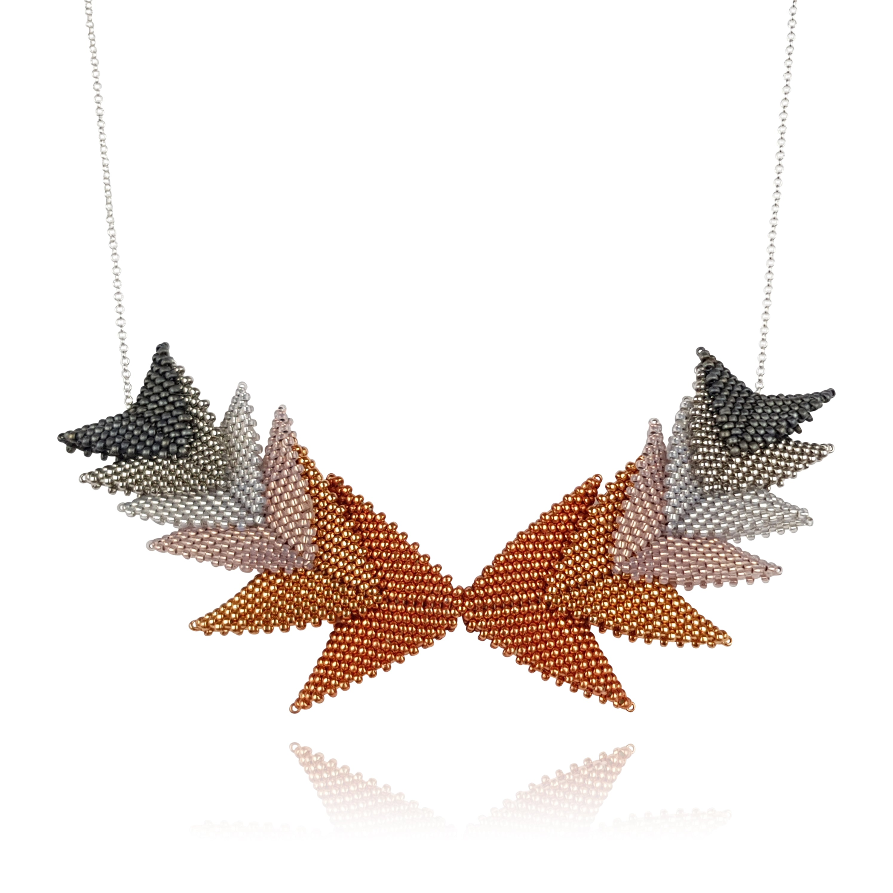 Thousand Hills Elements Necklace - Copper & Silver