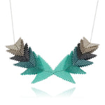 Thousand Hills Elements Necklace - Turquoise & Silver