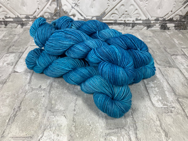 Tranquility on King on heavy dk/light worsted weight yarn