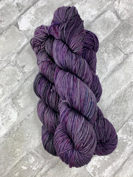 Fight Like A Girl on King on heavy dk/light worsted weight yarn