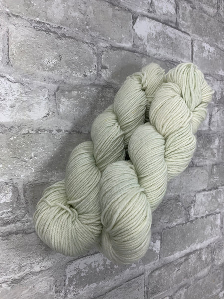 Cloudy on King on heavy dk/light worsted weight yarn
