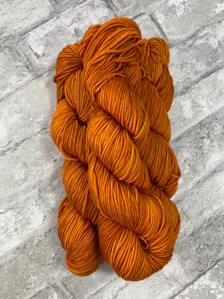 Squashy on King on heavy dk/light worsted weight yarn