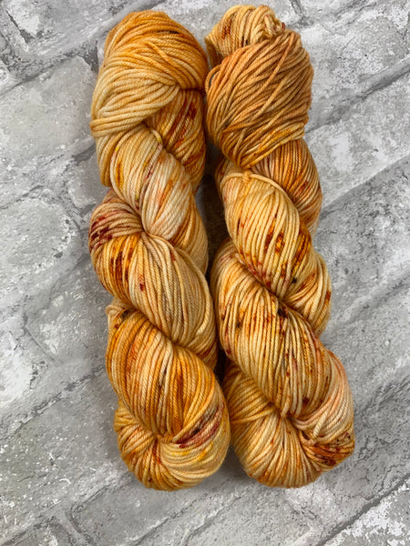 Gingers Are My Favorite on King on heavy dk/light worsted weight yarn