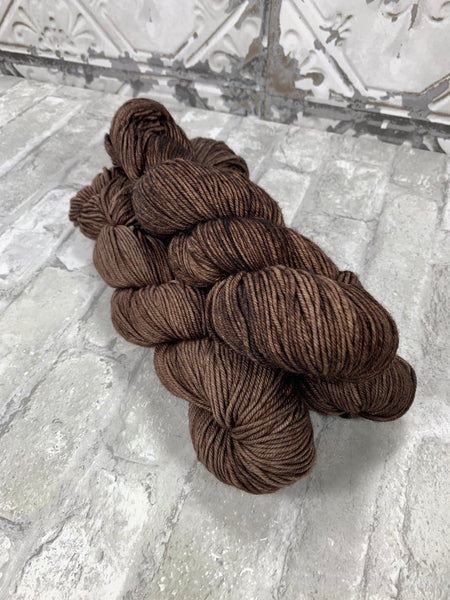 Firewood on King on heavy dk/light worsted weight yarn