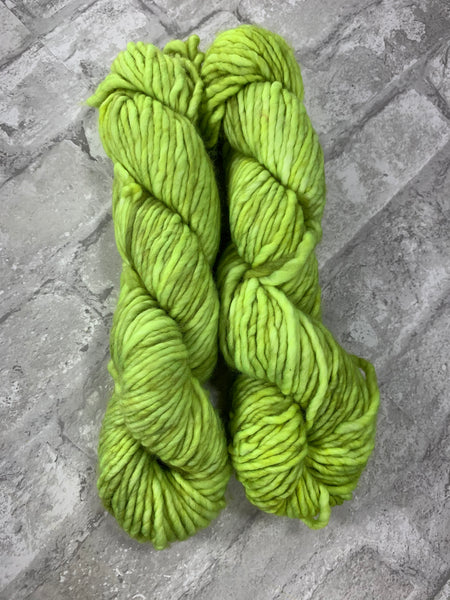 Lime In The Coconut on Instant a bulky weight super wash merino