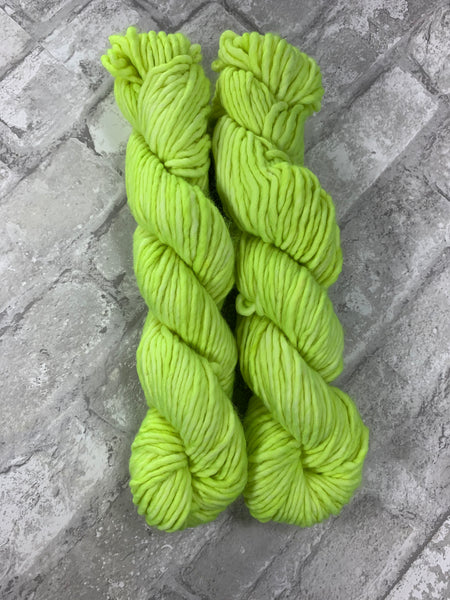 Lumos Maxima on Instant a bulky weight super wash merino