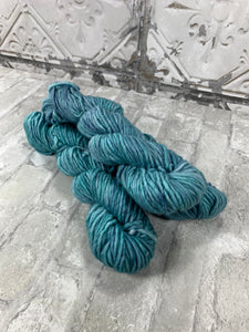 Aquamente on Instant a bulky weight super wash merino