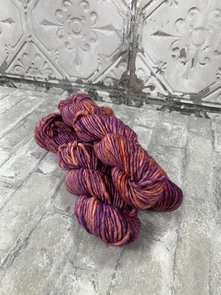 She Looks Beautiful on Instant a bulky weight super wash merino