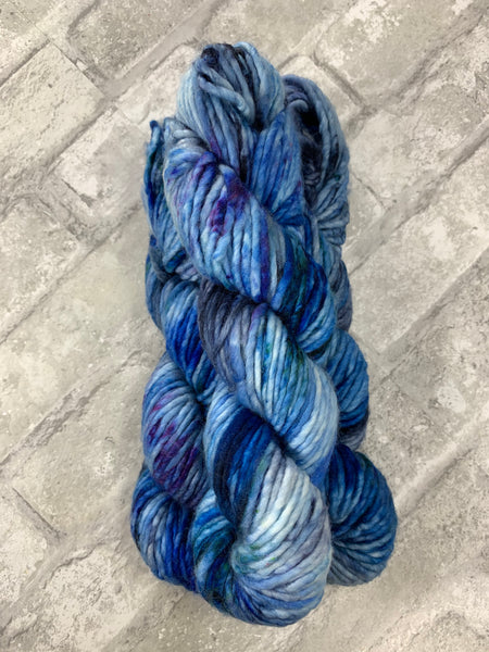 H2O on Instant a bulky weight super wash merino