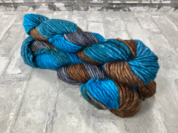 Stoney Shores on Instant a bulky weight super wash merino