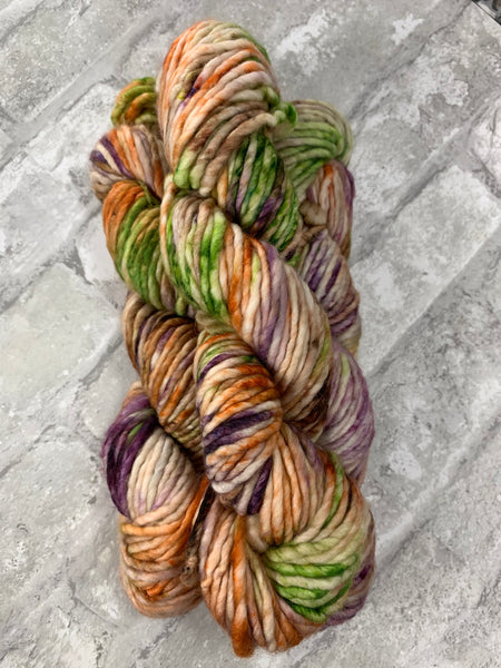 Changing Leaves on Instant a bulky weight super wash merino