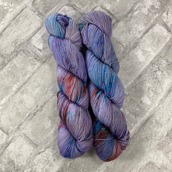 Betafish on Gold 400 yards of super wash fingering weight yarn