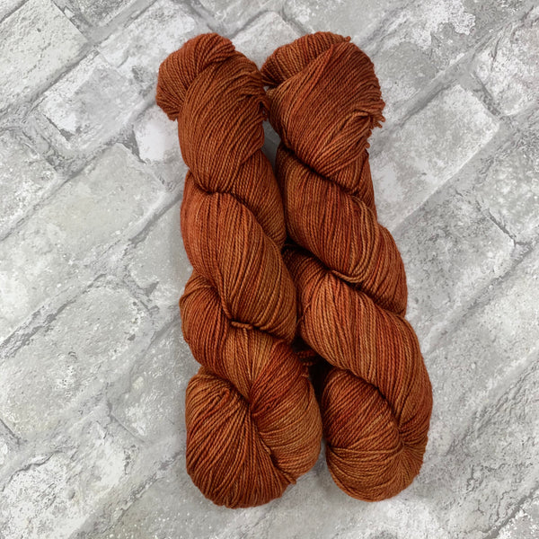 Tin Roof Rusted on Gold 400 yards of super wash fingering weight yarn