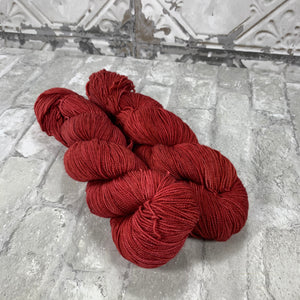 Like A Good Neighbor on Gold 400 yards of super wash fingering weight yarn