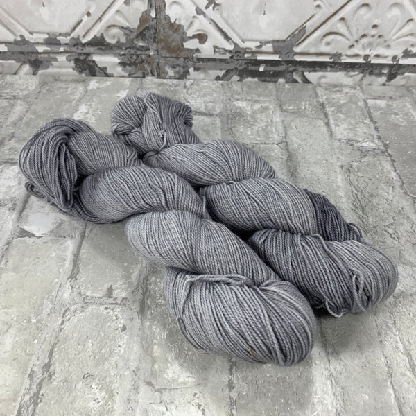 Mist on Gold 400 yards of super wash fingering weight yarn