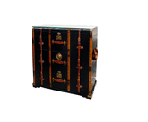 Chest Trunk with Glass Top