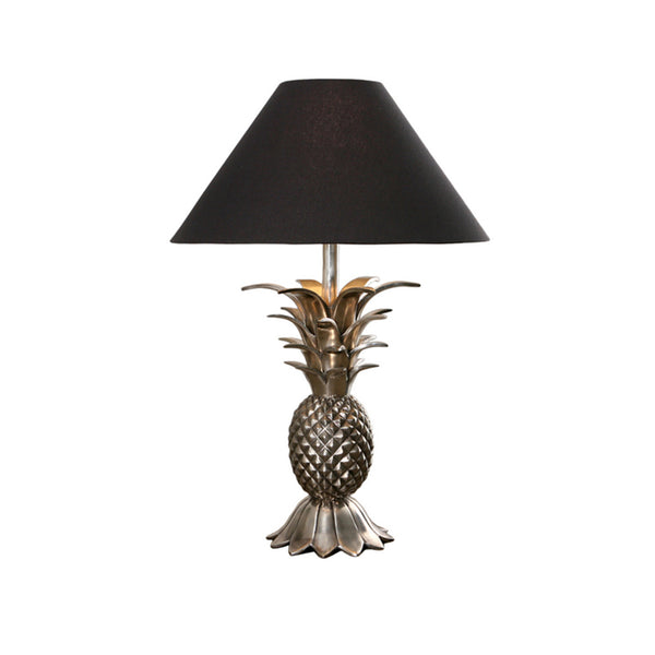 Antique Silver Pineapple Lamp Base