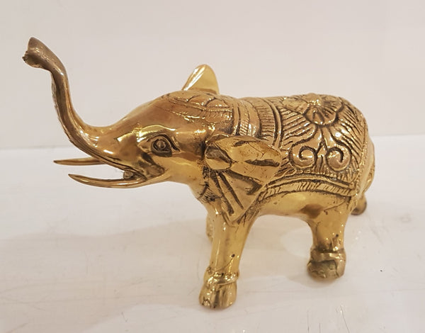 Brass Small Elephant