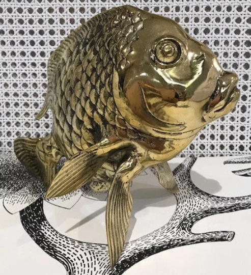 Large Brass Fish