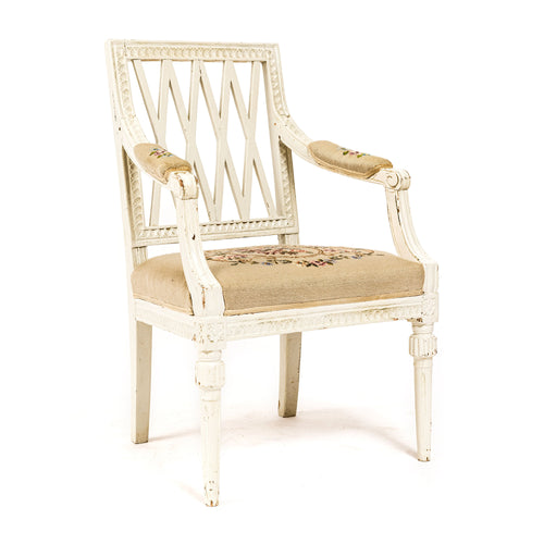 Gustavian armchair from around 1800