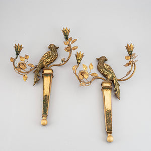 Pair of 19th century french appliqués