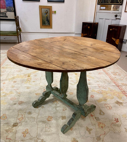 French vendage table