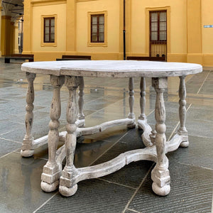 Pair of Italian console tables
