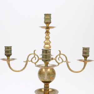 Pair of Baroque candelabras