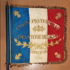 French military flag