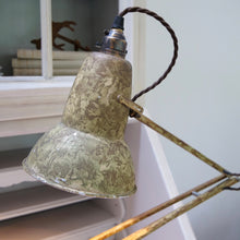 Load image into Gallery viewer, Vintage 1970's Herbert Terry camouflage anglepoise lamp
