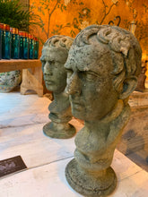 Load image into Gallery viewer, Pair of very handsome Roman heads