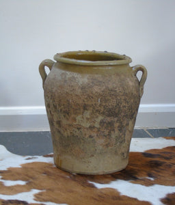 Olive oil storage jar