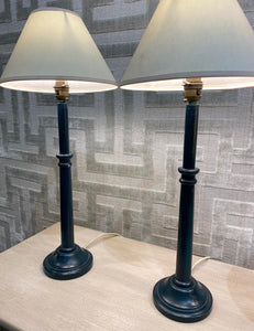 Pair of lamps with shade