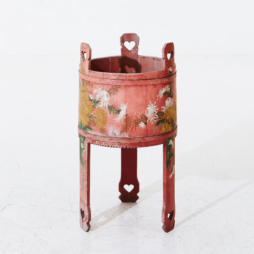 Swedish folk art planter
