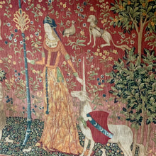 Load image into Gallery viewer, Tapestry after Lady as a Unicorn