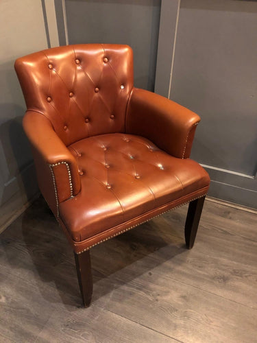 Superb quality upholstered club chair - 4 available
