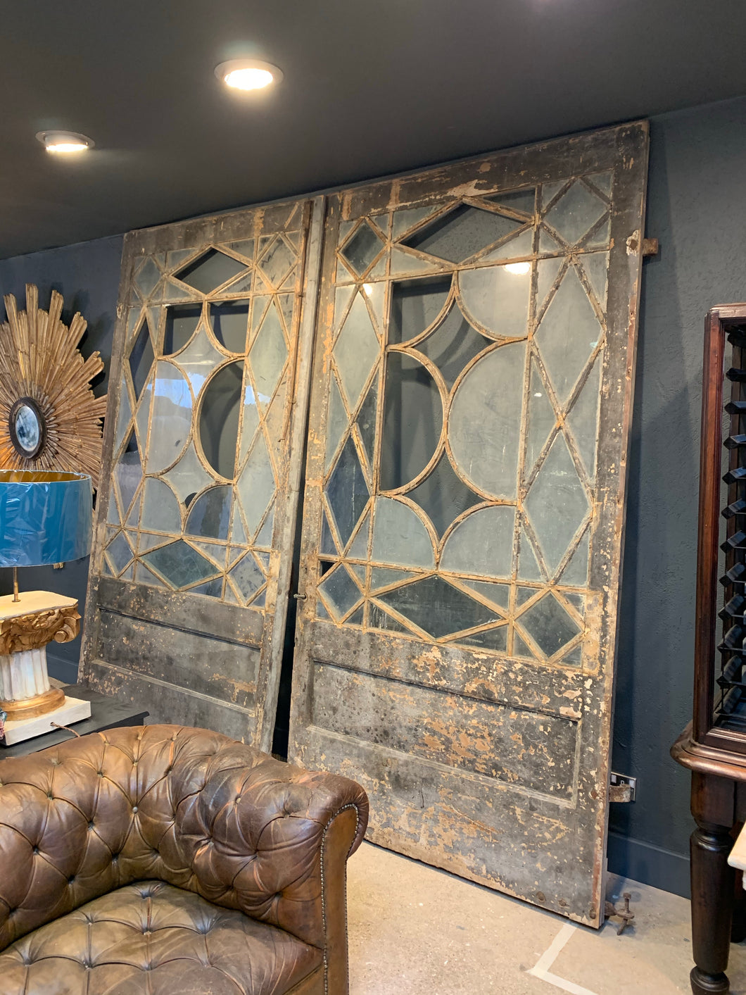 Huge pair of Italian doors