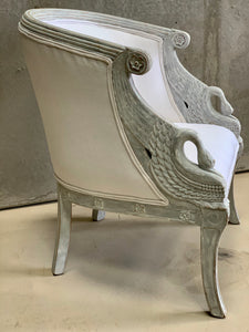 Elegant Swedish armchair