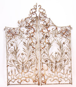 Outstanding pair of French garden gates